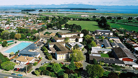 Aerial Nayland College View