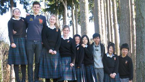 Geraldine High School Students